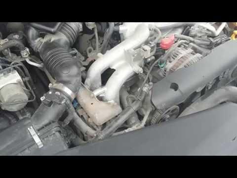 Вой насоса ГУРа Subaru Impreza 08
