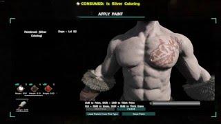 """getlinkyoutube.com-Ark Survival Evolved """"Tattoo & Warpaint"""""""