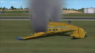 getlinkyoutube.com-FSX Crash in Barbados