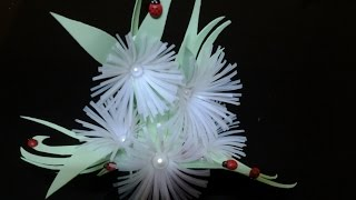 getlinkyoutube.com-Best Out Of Waste Plastic Can transformed to Wonderful flowers showpiece