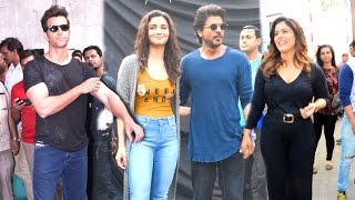 getlinkyoutube.com-Bollywood Celebs INSIDE Mehboob Studio - Shahrukh Khan,Kajol,Alia,Hrithik,Jacqueline,Dia Mirza