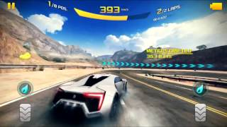 getlinkyoutube.com-Asphalt 8 Gameplay with Lykan HyperSport