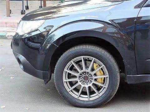Тормозная система Тюнинг тормозов Subaru Forester от hp-brakes.ru