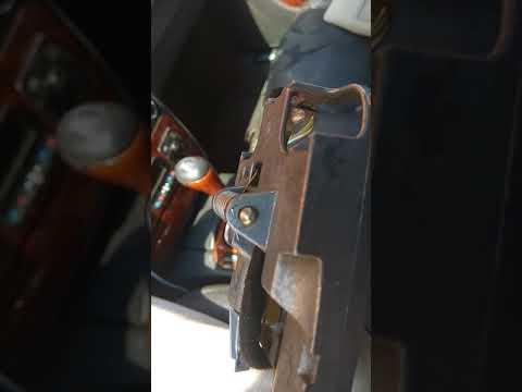 Снятие и установка зеркала заднего вида на Мерседес w220
