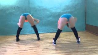 getlinkyoutube.com-New TWERK/BOOTY DANCE choreo by INDICA with student Tasha Di