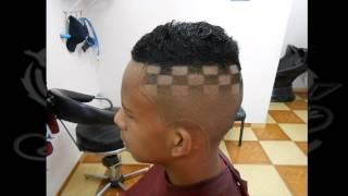 getlinkyoutube.com-corte de cabelo masculino - quadradinho sombreado - jaé arte black