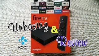 getlinkyoutube.com-Review & unboxing the new 4K Amazon FireTV with install Kodi