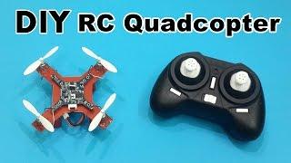getlinkyoutube.com-How to Make a Mini RC Quadcopter at Home - DIY Tutorials