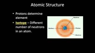 Video Lecture: Introduction to Biochemistry