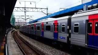 getlinkyoutube.com-Korail Line 1 Yongsan-Dongincheon express train at Singil