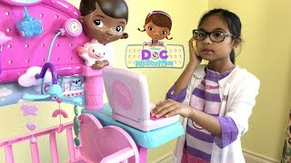 Disney Doc McStuffins Get Better Talking Mobile with Snuggles & Unicorn | Toys Academy width=