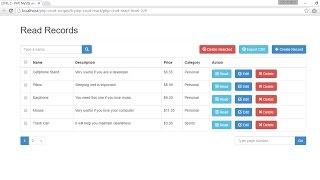 getlinkyoutube.com-Output Preview - React CRUD Tutorial - LEVEL 2