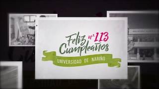 Feliz Cumpleaños Universidad de Nariño. 113 Años. (2)