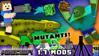 getlinkyoutube.com-CHASE PLAYS MINECRAFT:  Mutant Creatures & Robo Dinosaurs w/ Chance Cubes (1.7 Mods w/ Zootopia Fox)