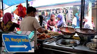 [FULL HD] The Bazar in Little India in Kuala Lumpur & Masjid India along Jalan Masjid India