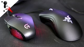 getlinkyoutube.com-Sensor War: Logitech G303 VS Razer DeathAdder Chroma