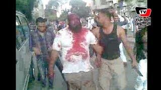 getlinkyoutube.com-أسلحة ودماء في اشتباكات فيصل بين الاهالي ومسيرة الإخوان