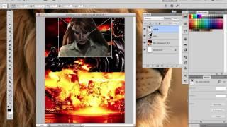 getlinkyoutube.com-การตัดแต่งภาพเพื่อทำโปสเตอร์ Progarm Photoshop By อ.พี่อั๋๋น