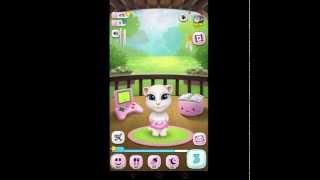 getlinkyoutube.com-เกมส์เลี้ยงแมวพูดได้ My Talking Angela