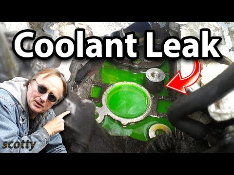 How to Find a Coolant Leak in Your Car with UV Dye
