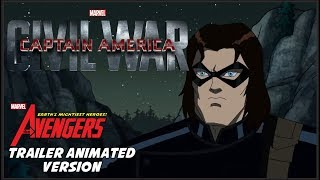 getlinkyoutube.com-Captain America: Civil War - Trailer Animated Version HD (Fan-Made)