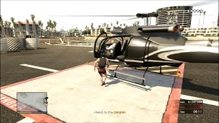 GTA Online Heists Pacific Standard Easy with a Helicopter