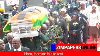 Hero, heroine laid to rest