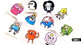 getlinkyoutube.com-How To Draw Adventure Time by Garbi KW