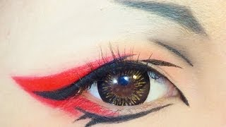 getlinkyoutube.com-Tutorial : Anime Eye Makeup 34 • Ran-Mao