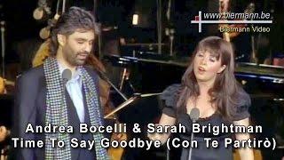 getlinkyoutube.com-Andrea Bocelli & Sarah Brightman - Time To Say Goodbye