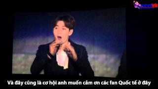 [Vietsub][SujunewsVN] 150712 SS6 Encore Day 2 - Giới thiệu bài hát qua nhóm máu
