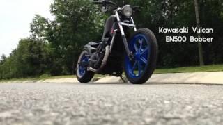 getlinkyoutube.com-Kawasaki Vulcan EN500 Bobber