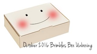 getlinkyoutube.com-Unboxing OCTOBER 2016 Brimbles Box Unboxing - Monthly Stationery / Planner Subscription Box