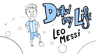 getlinkyoutube.com-LEO MESSI - Draw My Life