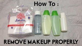 getlinkyoutube.com-How To Remove MakeUp Properly - Diendiana