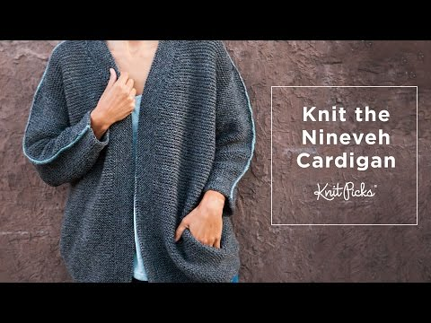 Nineveh Cardigan Finishing Tutorial