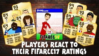 getlinkyoutube.com-FIFA 17 RATINGS - FOOTBALLERS REACT! (Zlatan, CR7, Messi, Muller, Rooney, Luiz, Akinfenwa parody)