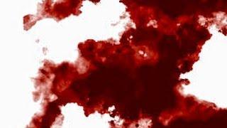 getlinkyoutube.com-Blood Splat on Green Screen