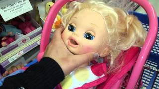 getlinkyoutube.com-Baby Alive Goes on Shopping Spree at TOYS R US, then Pumps Gasoline!?