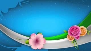 getlinkyoutube.com-خلفيات مونتاج فيديو زخارف وورود متحركة