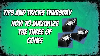 getlinkyoutube.com-Tips and Tricks: How to Maximize the Three of Coins