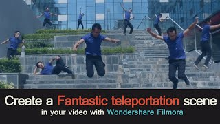 getlinkyoutube.com-How to Pull off a Fantastic Teleportation effect Using Filmora