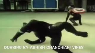 ASHISH CHANCHLANI VINES CIVIL WAR & AVENGERS DUB