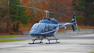 getlinkyoutube.com-Bell 206 JetRanger helicopter review + how to fly a helicopter