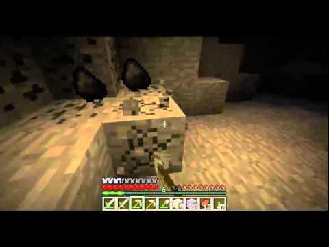 Minecraft - Lets Play - Folge 14 - Mit Tornado Mod - Meine Lieblingsfarbe ist Lava