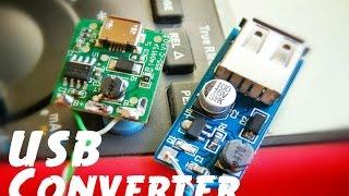 getlinkyoutube.com-DC-DC USB 5V Step-up Boost Power Converter Circuit Module Tests