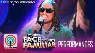 "Your Face Sounds Familiar: Jay R as Stevie Wonder - ""I Just Called To Say I Love You"""