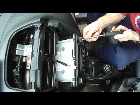 FAW V5. панель магнитолы
