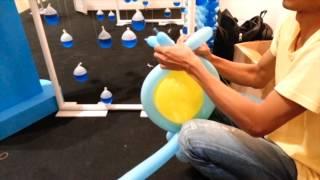 getlinkyoutube.com-How to Make: Owl Adalima Balloons