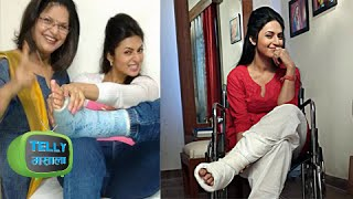 Divyanka Tripathi Recovers From Leg Injury | Off Wheel Chair